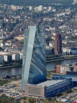 The ECB building in Frankfurt-am-Main