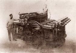 First quadricolour press